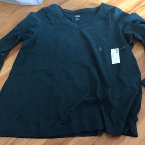 NWT Avenue your tee long sleeve green 14/16